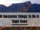 10 Awesome Things To Do In Cape Town
