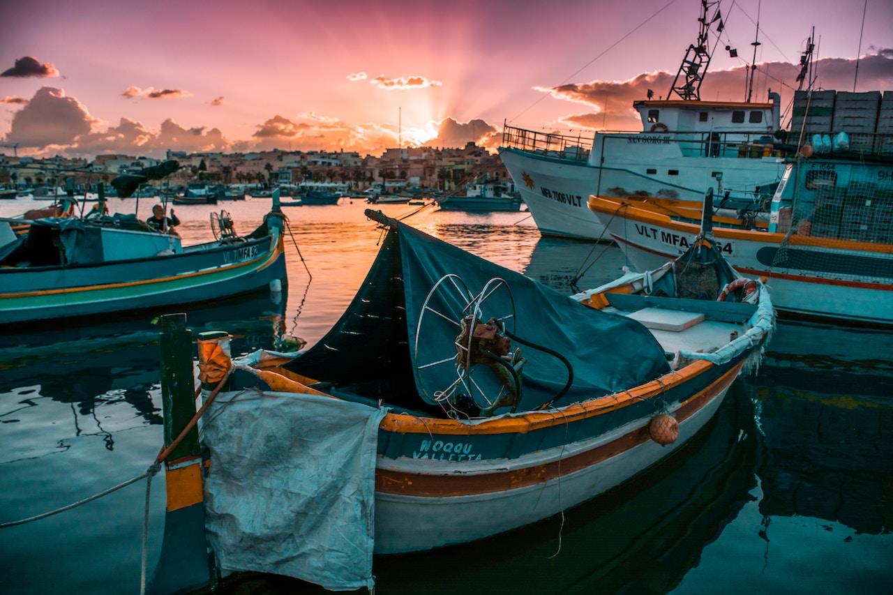 Malta Fishing Boats