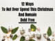 12 Ways To Save This Xmas