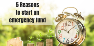 5 Reasons to Start An Emergency Fund