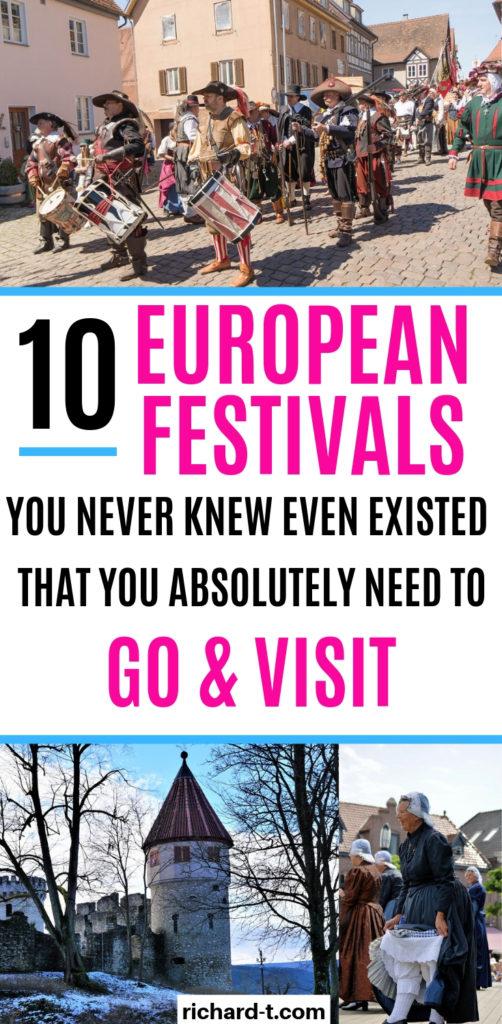 10 EU festivals you must go to