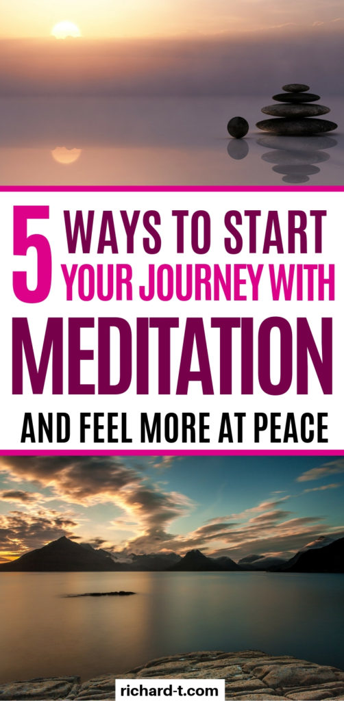 3 Ways to start meditation!