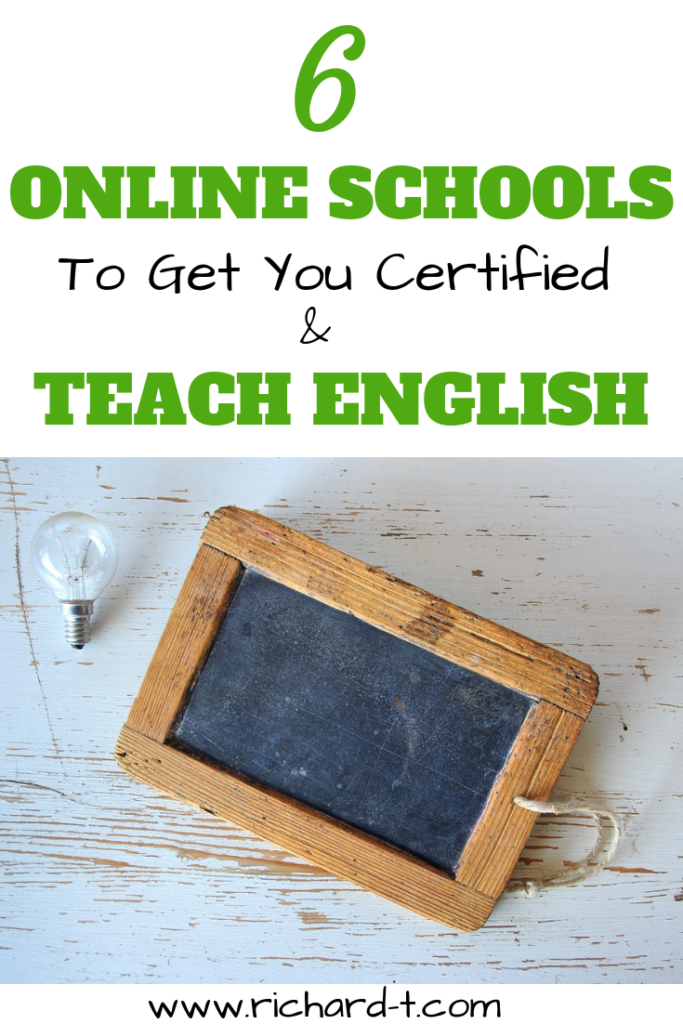 6 Online Schools To Get You Certified & Teach English Around The World