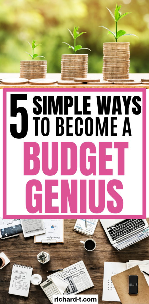 5 Simple Ways To Become A Budgeting Genius