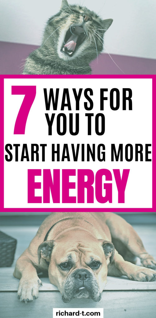 7 Ways to have more energy !