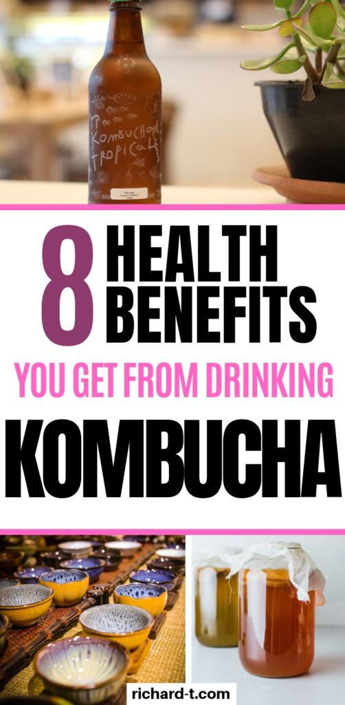 8 Health benefits of kombucha