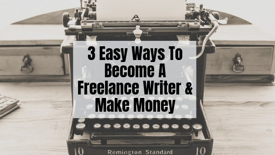 Become a freelance writer today!