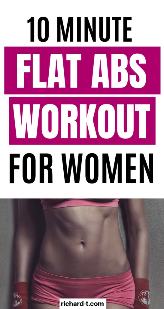 10 Min Ab Workout For Women