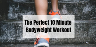 10 Minute bodyweight workout