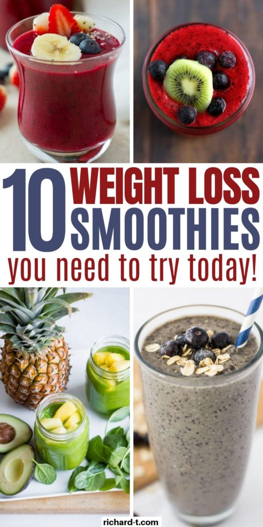 10 Smoothies for Weight Loss
