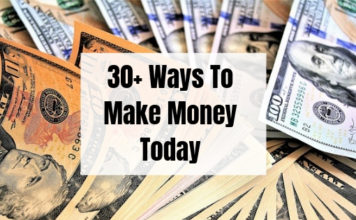 30 Ways to make money this year!