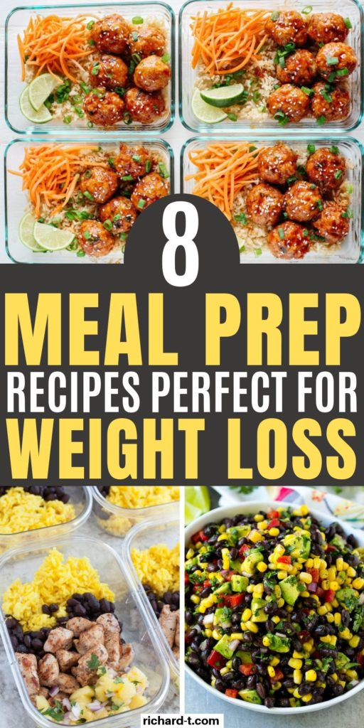 8 Meal Prep Recipes