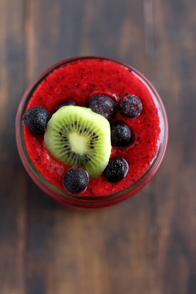 Berry smoothie for weight loss