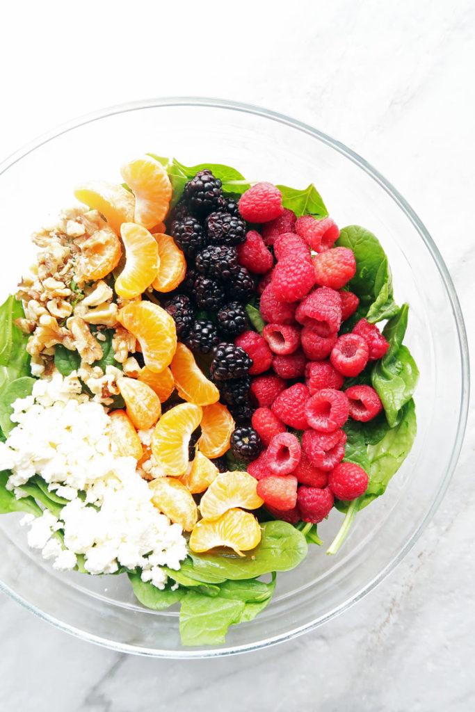 Berry Orange Salad