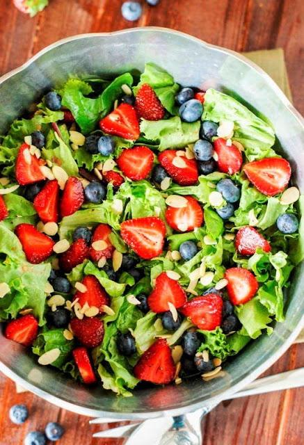 Healthy berry veg salad recipe