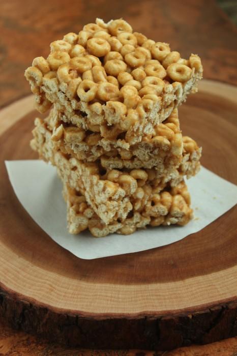 Healthy honey bar snack