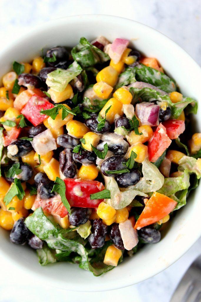Healthy vegetarian recipe idea