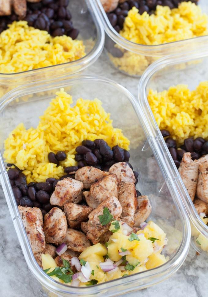 Jerk chicken meal prep recipe