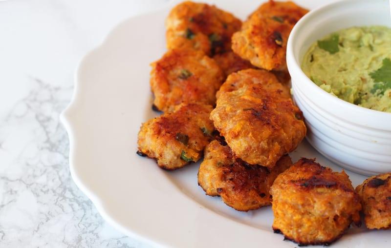 Sweet potato chicken healthy snack recipe