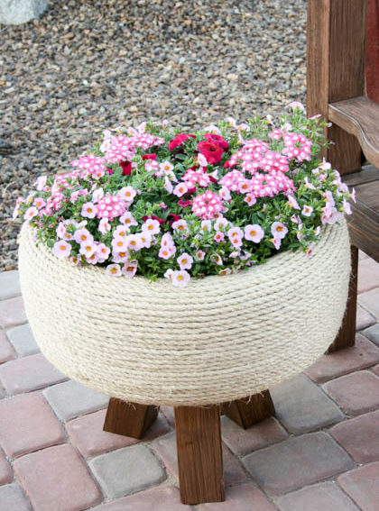Tire Plant DIY Idea