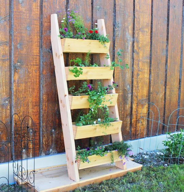 Vertical garden idea DIY