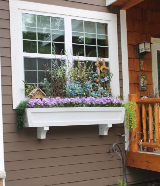 Window Box Planter DIY Ideas
