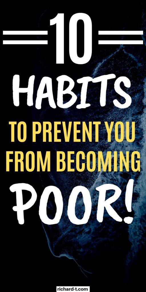 10 Finance Habits