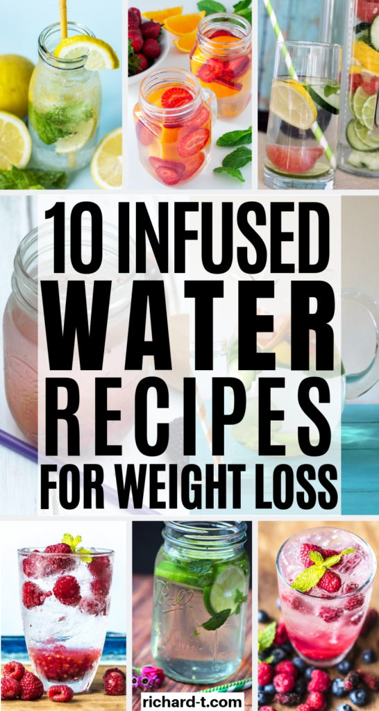 10 Infused Water Recipes For Weight Loss