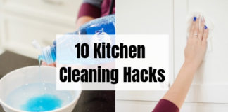 10 Kitchen Cleaning Hacks