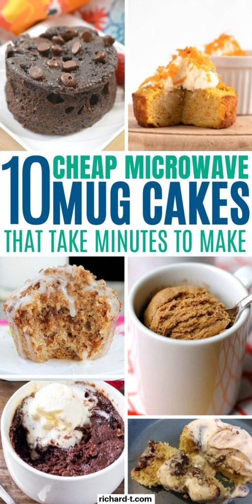 10 Mug Cakes