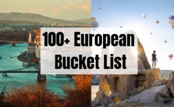 100+ European Bucket List