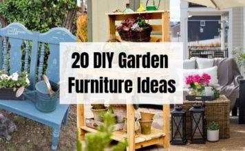 20 DIY Garden Furniture Ideas