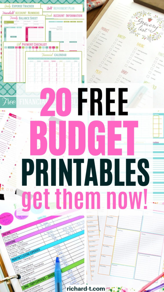 20 Free Budget Printables To Use Today 2