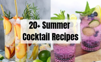 20+ Summer Cocktail Recipes
