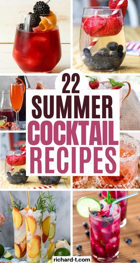 20+ Summer Cocktails