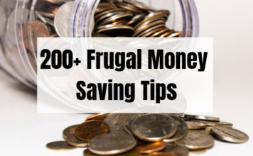 200+ Money Saving Tips