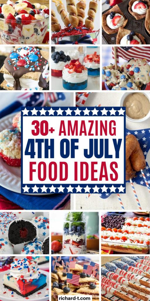 30+ 4th Of July Recipe Snack Ideas