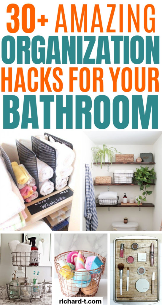 30+ Bathroom Organization Hacks