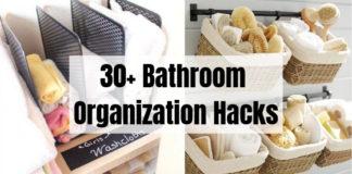 30+ Bathroom Organization Hacks