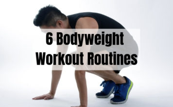 6 Bodyweight Workout Routines