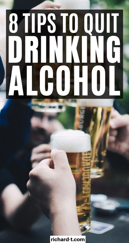 8 Tips to quit drinking alcohol