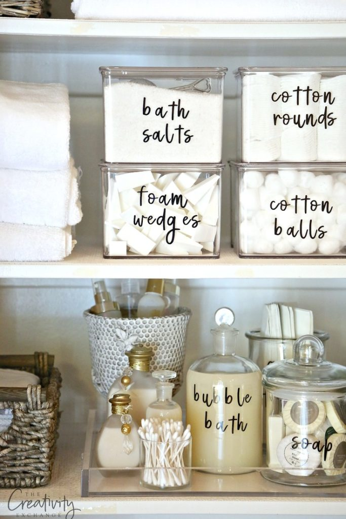 Bathroom Organization 6