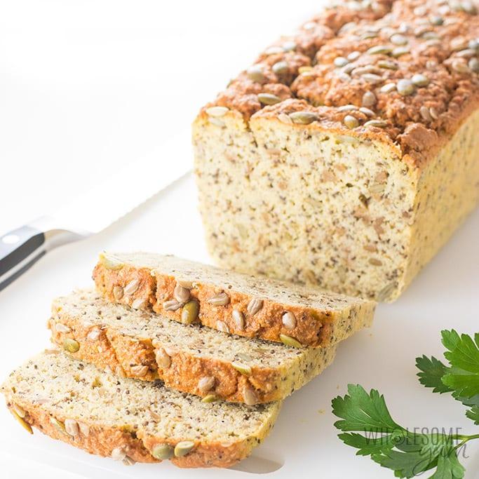 Coconut flour low carb bread