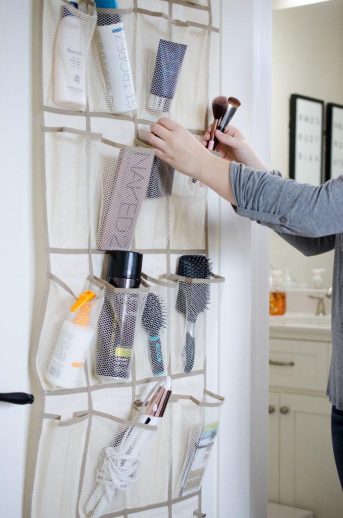 DIY Bathroom storage 2
