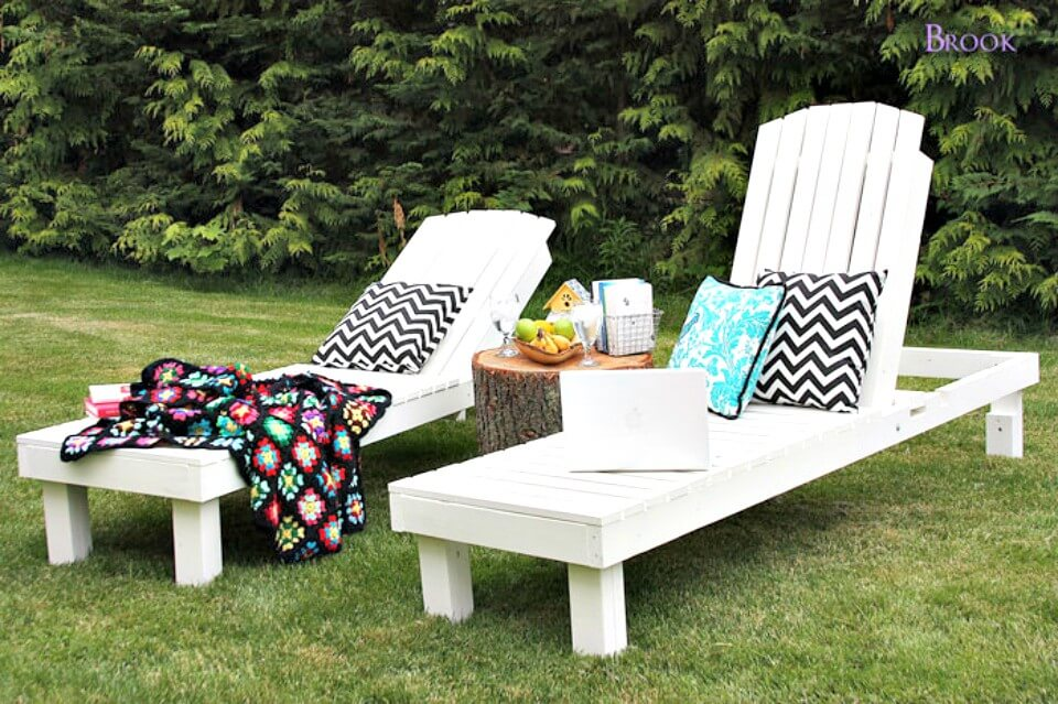 DIY Garden Lounges