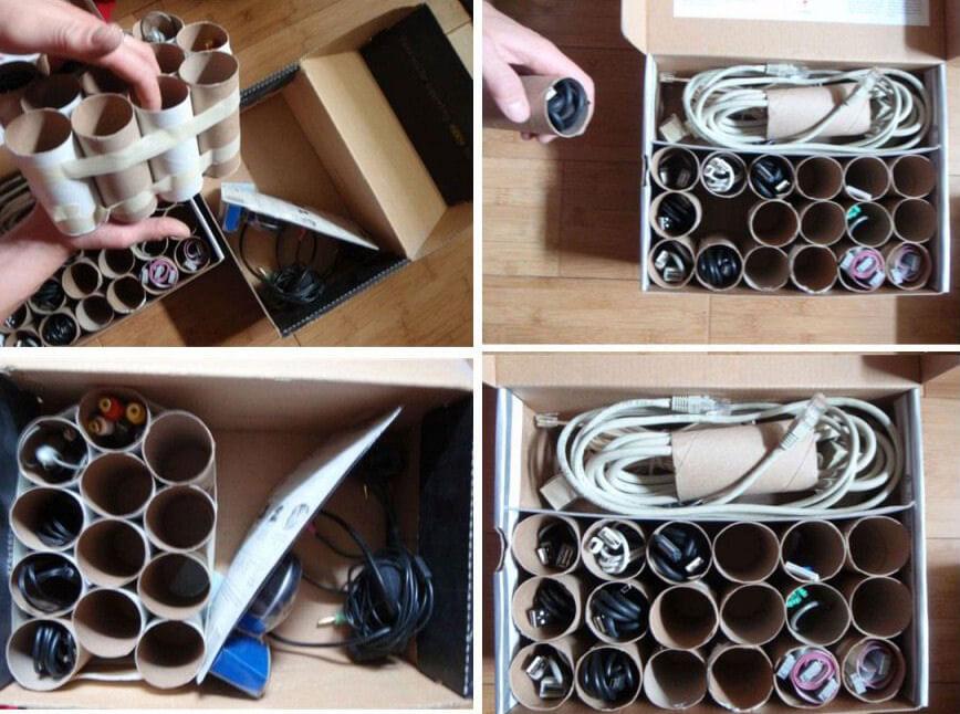DIY ideas for storage