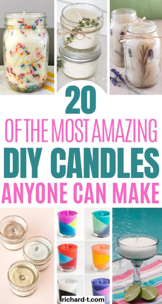 20 DIY Candles