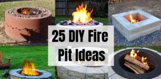 25 DIY Fire Pit Ideas