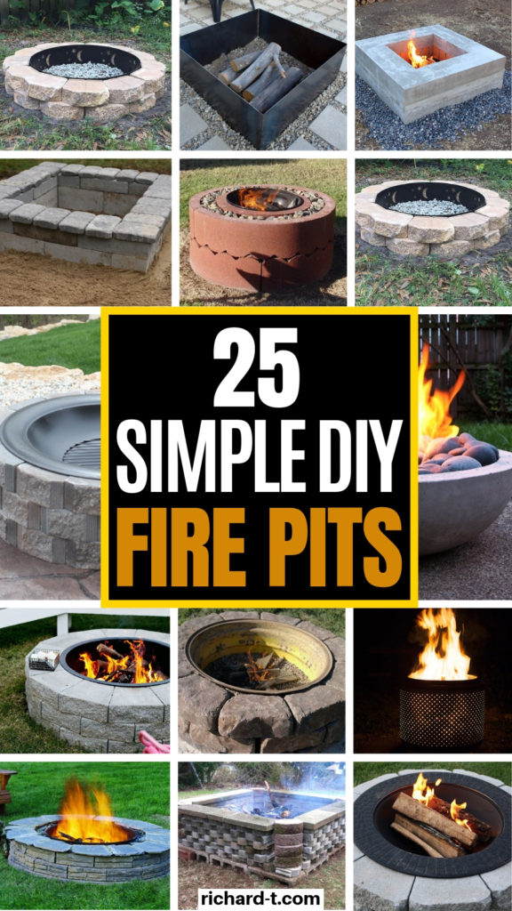 25 DIY Fire Pits