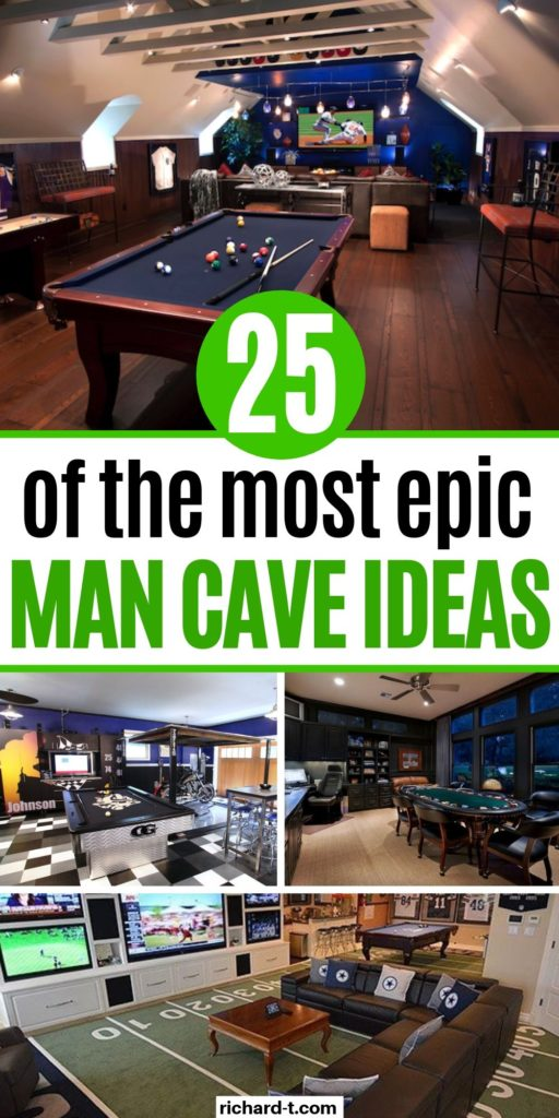 25 Epic Man Caves